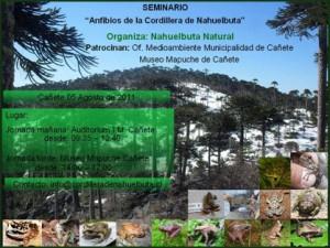 Seminario anfibios Nahuelbuta 2011